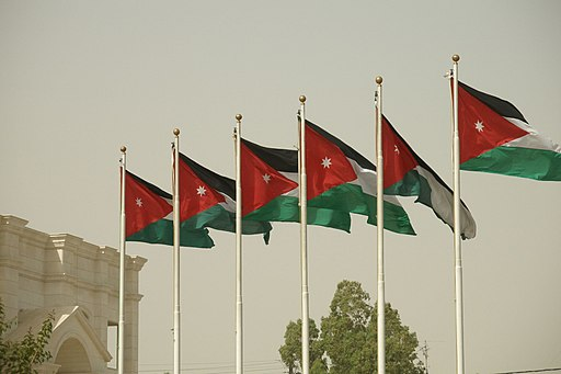 Jordan flags