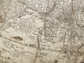 Jordglob, Indien, 1602 - Skoklosters slott - 102421.tif