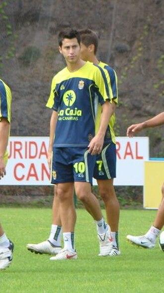 Jorge Larena - Larena training with Las Palmas in 2009