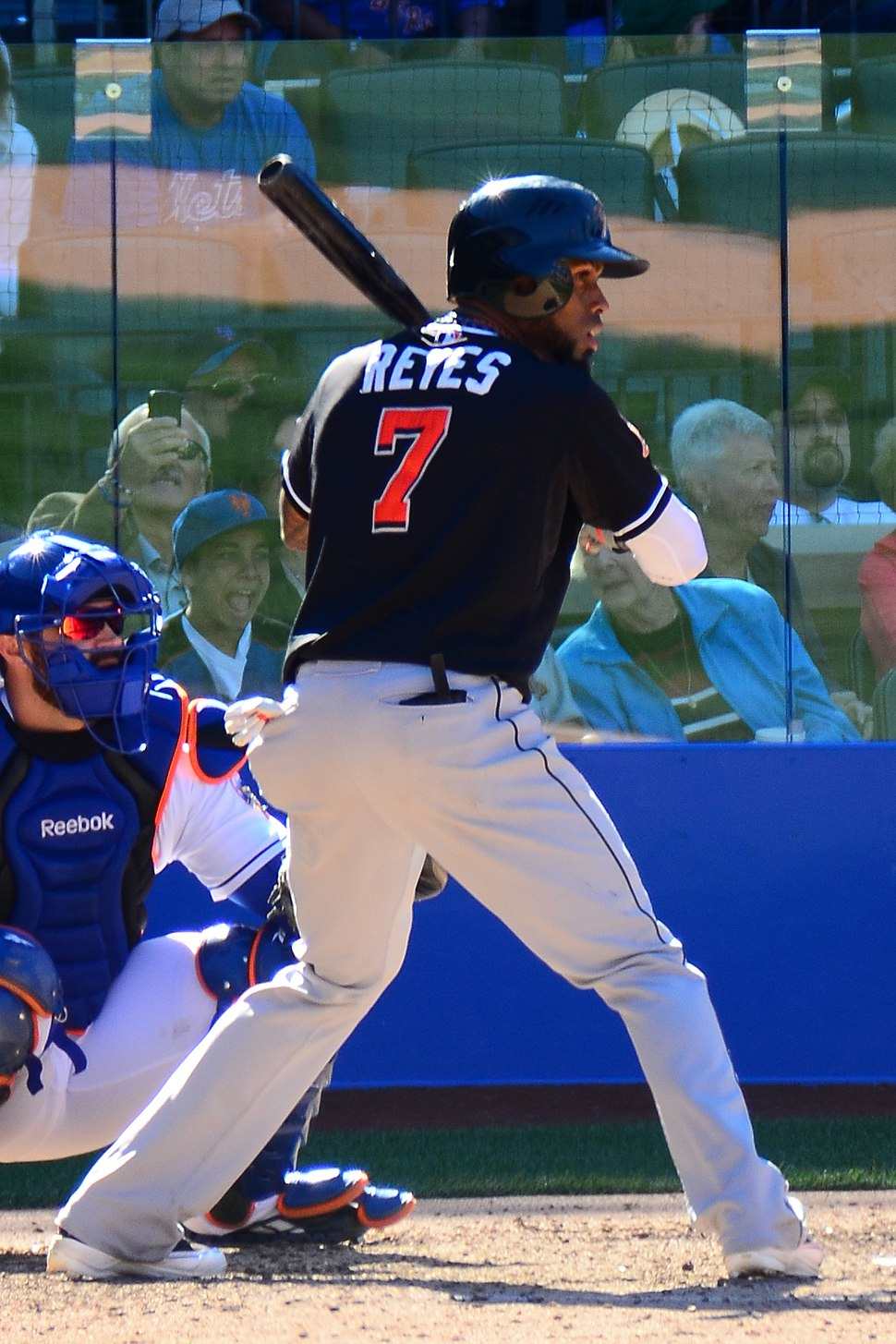 José Reyes on September 23, 2012