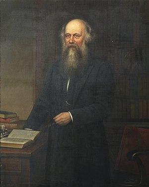 Joseph Angus - Joseph Angus, 1883 portrait