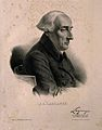 Joseph Louis Lagrange. Lithograph by Z. Belliard. Wellcome V0003312.jpg