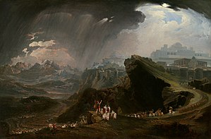 Joshua - Joshua Commanding the Sun to Stand Still upon Gibeon by John Martin
