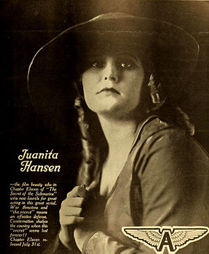 Juanita Hansen - Advertisement (1916)
