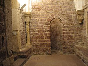 History of the Jews in Speyer - Changing alcove in the Speyer Mikveh