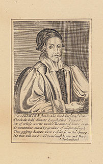 David Jenkins (Royalist) Welsh judge and Royalist during the English Civil War