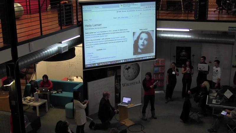 File:Judy Tuan at the San Francisco Wikipedia Hackathon January 2012.webm