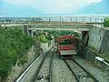 Juni 2006, Chemin de fer funiculaire Vevey–Chardonne–Mont Pèlerin 02.JPG