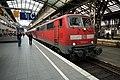 Kölner Hauptbahnhof- auf Bahnsteig zu Gleis 1- Richtung West (RB Rhein-Wupper-Bahn 111 124-4) 15.9.2012.jpg