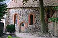 Kühlungsborn, Schlossstraße, ev. Johanniskirche, Seitenansicht re. 5.JPG