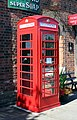 K6 Phone box at Hadlow Road station.jpg