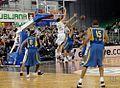 KK Union Olimpija vs Maccabi Tel Aviv 2009-12-03 (17).jpg