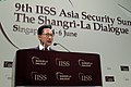 KOCIS President Lee at the IISS Asia Security Summit (4671302868).jpg