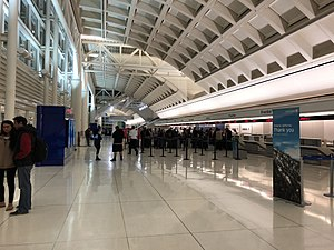 Ontario International Airport - Check-in counters at Airport's Terminal 2.