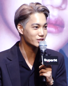 Kai at a Launching Press Conference on October 2, 2019 02.png