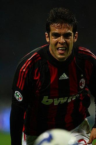 Kaká - Kaká in action with Milan against Torino on 19 April 2009