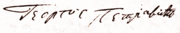 Karađorđe signature.png