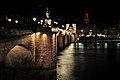 Karl-Theodor-Brücke (Alte Brücke) Heidelberg bei Nacht.jpg