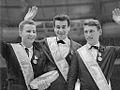 Karol Divin, Manfred Schnelldorfer en Alain Calmat (1964).jpg