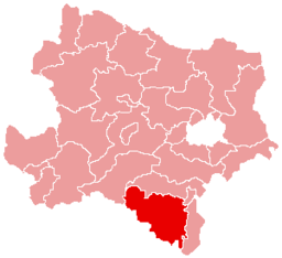 Bezirk Neunkirchen location map