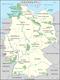 Karte der Biosphärenreservate in Deutschland