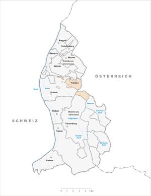 Планкен на карте