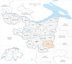 Map of Thundorf