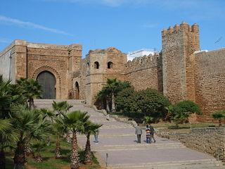 Kasbah of the Udayas kasbah in Rabat, Morocco