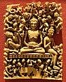 Kashmir, buddha che digiuna, avorio, viii secolo.jpg