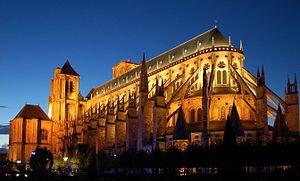 Die gotische Kathedrale von Bourges