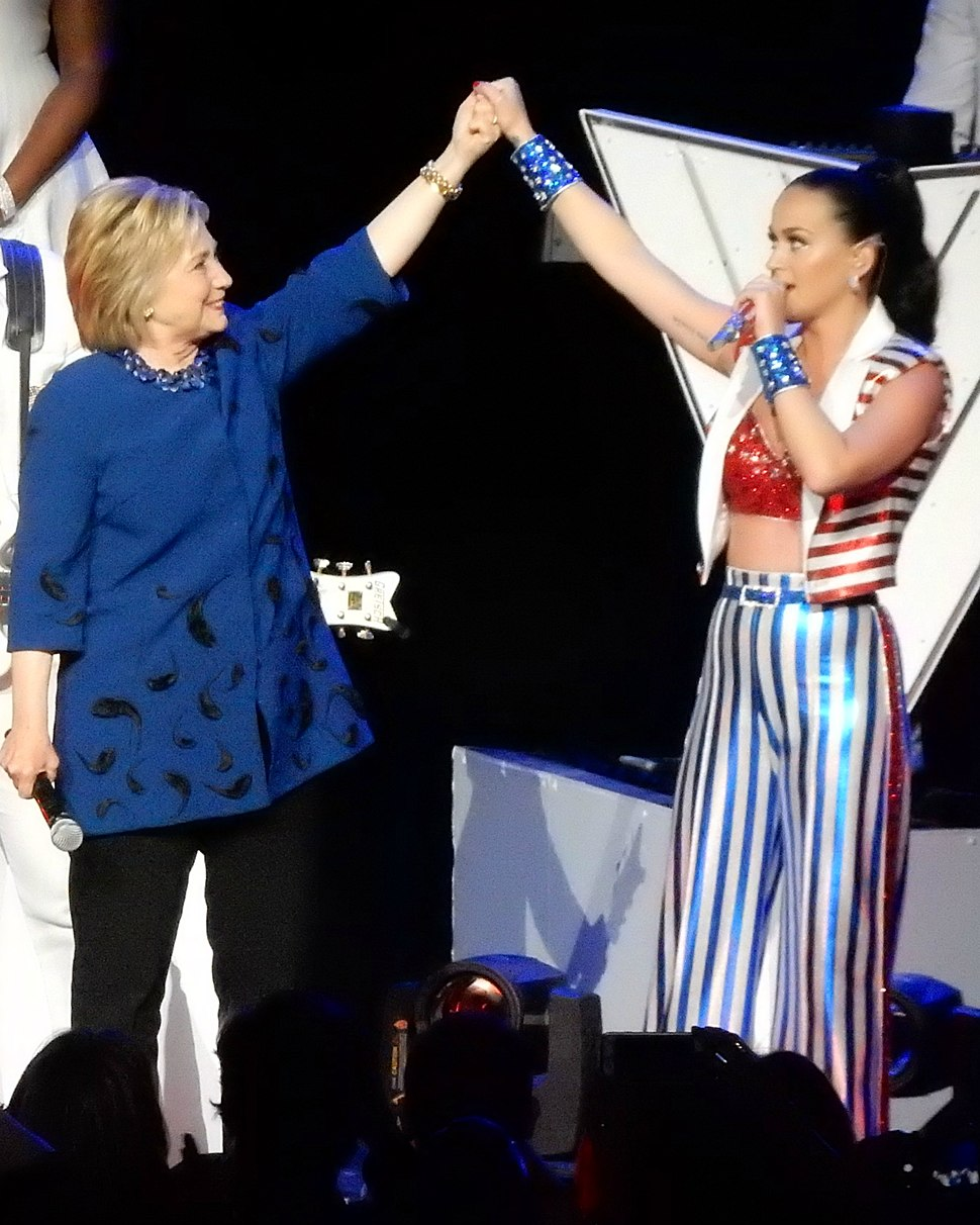 Katy Perry Hillary Clinton, I'm With Her Concert