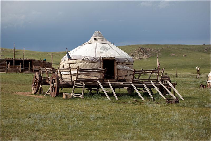 File:Kazakh yurt.jpg