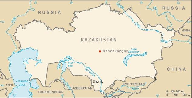Kazakhstan-Dzhezkazgan