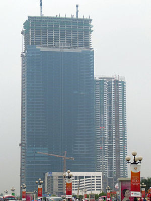 Keangnam Hanoi Landmark Tower - Image: Keangnam Tower October 2010