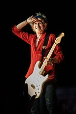 Keith Richards in 2018.