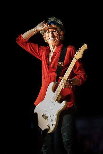 Picture of a band or musician: Keith Richards
