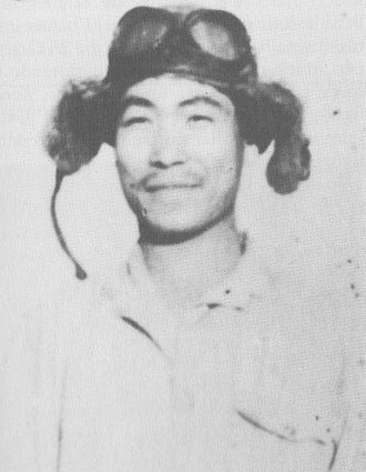 Kenichi Abe - Abe while with the Kanoya Air Group sometime in 1942