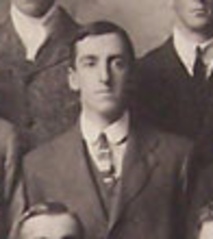 Kenneth Berridge Wood - Kenneth Berridge Wood with the British Isles team in 1910
