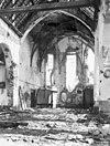 kerkinterieur met oorlogsschade - kesteren - 20124943 - rce