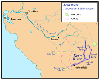 Kern River River in California, United States