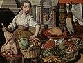 Keukenstuk, met op de achtergrond Jezus bij Martha en Maria Rijksmuseum SK-A-2251.jpeg