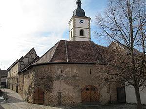 Fortress church - Kleinlangheim fortress church