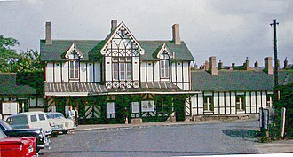 Kidderminster railway station - Image: Kidderminster station, 1963 3387931