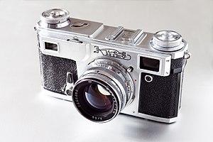 Kiev (brand) - Kiev 4A rangefinder camera