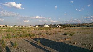 Radum, California - Abandoned buildings at Radum