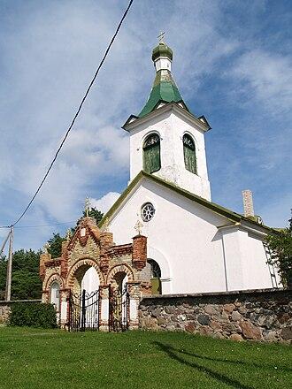 Kihnu - Image: Kihnu church