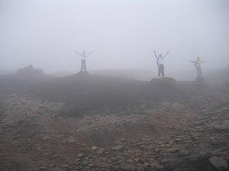 Kinder Scout - Image: Kinder Scout in extreme mist