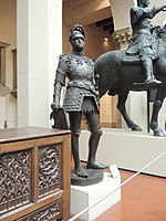 King Arthur statue (Innsbruck) - replica in Pushkin museum 01 by shakko.jpg
