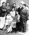 King Inayatullah Khan and family.jpg
