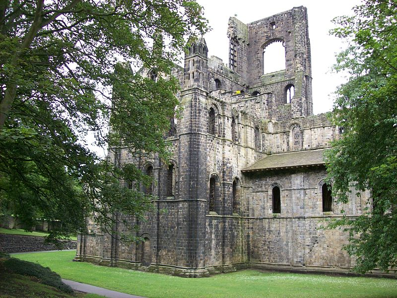 File:Kirkstall Abbey, church from north.jpg